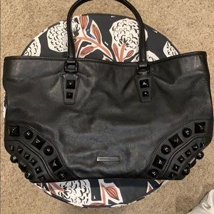 Burberry Black Studded Tote